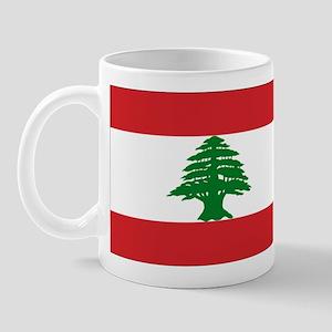 Lebanese Flag Mug