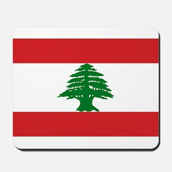 Lebanese Flag Mousepad