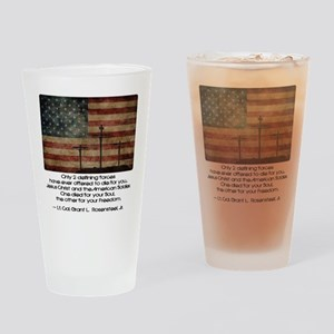 Defining Forces Drinking Glass