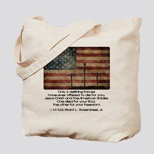 Defining Forces Tote Bag