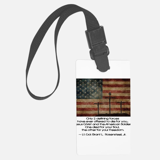 Defining Forces Large Luggage Tag