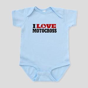 I Love Motocross Body Suit