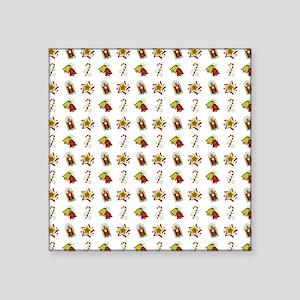 "CHRISTMAS CHEER Square Sticker 3"" x 3"""