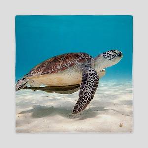 Sea Turtle Queen Duvet