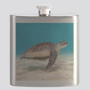 Sea Turtle Flask