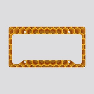 Cellular Structure License Plate Holder