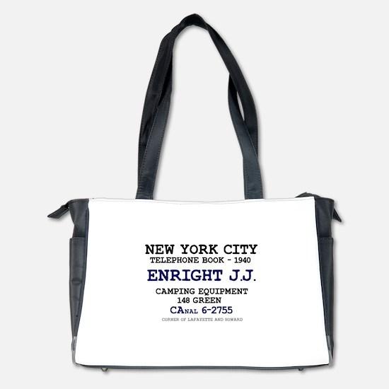 NEW YORK CITY TELEPHONE BOOK 1940 - ENR Diaper Bag