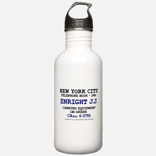 NEW YORK CITY TELEPHON Water Bottle