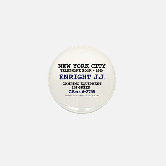 NEW YORK CITY TELEPHONE BOOK 1940 - EN Mini Button