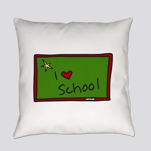 I School Everyday Pillow