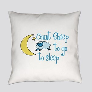 Count Sheep to go to sleep Everyday Pillow