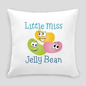 Little Miss Jelly Bean Everyday Pillow
