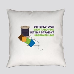 Stitches Everyday Pillow