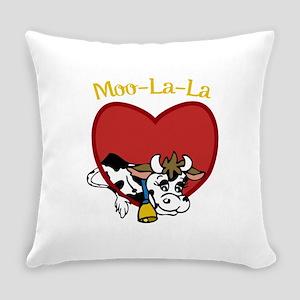 Moo-La-La Everyday Pillow