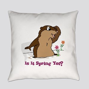 Is It Spring Yet Everyday Pillow