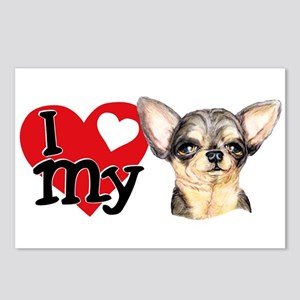 Love My B&T Chihuahua Postcards (Package of 8)