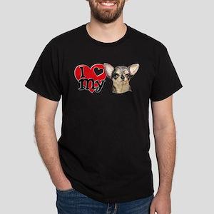 Love My B&T Chihuahua Dark T-Shirt