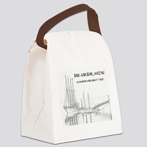 Bar Harbor Schooner Canvas Lunch Bag