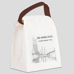 Bar Harbor Schooner Canvas Lunch Bag