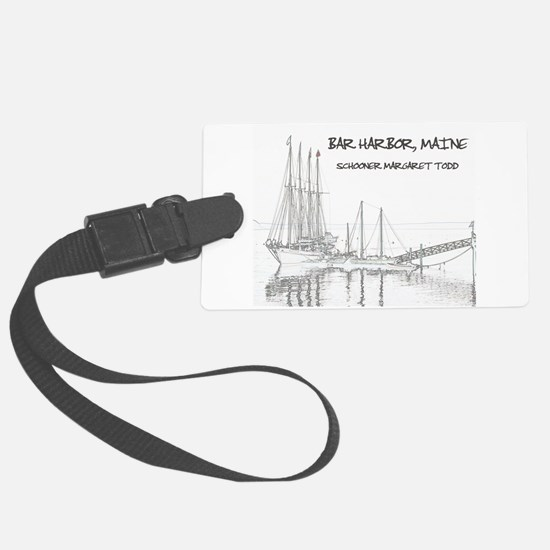 Bar Harbor Schooner Luggage Tag