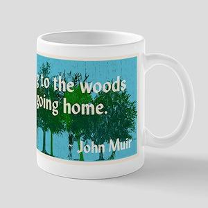 John Muir Quote Mugs