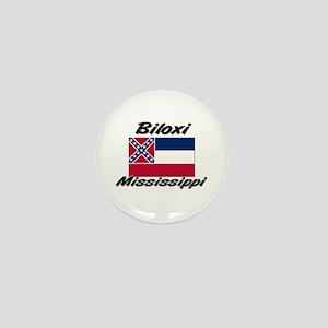 Biloxi Mississippi Mini Button
