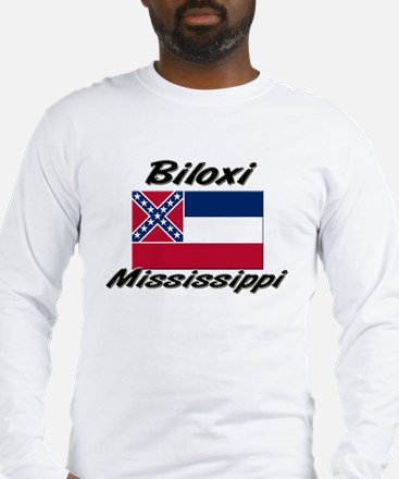 Biloxi Mississippi Long Sleeve T-Shirt