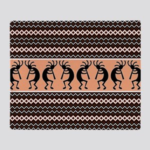 Southwest Kokopelli Throw Blanket
