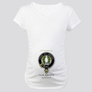 Clan Arthur Maternity T-Shirt
