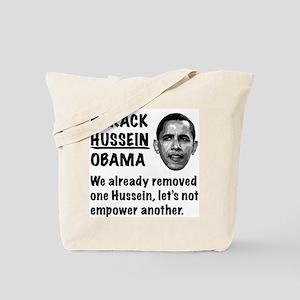 Barack Hussein Obama Tote Bag