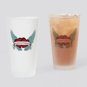 Always and Forever Rockabilly Winged Heart Drinkin