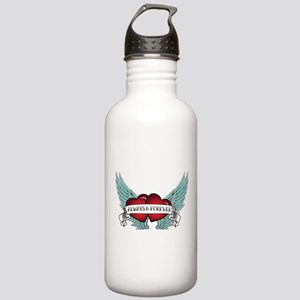 Always and Forever Rockabilly Winged Heart Water B
