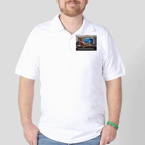 Most Interesting Cat Golf Shirt