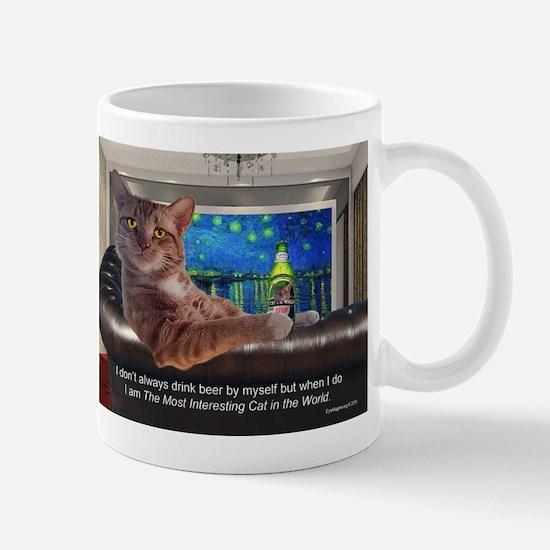 Most Interesting Cat Mugs