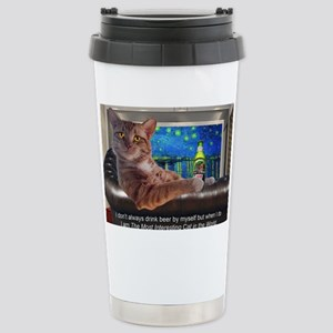 Most Interesting Cat Stainless Steel Travel Mug