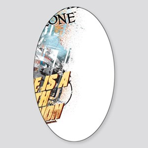 Fifth Dimension Sticker (Oval)