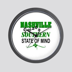 Nashville Southern State of Mind Wall Clock