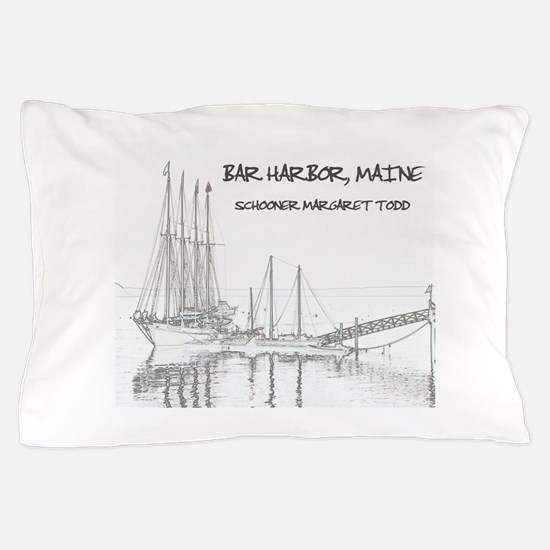 Bar Harbor Schooner Pillow Case