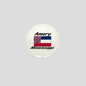 Amory Mississippi Mini Button