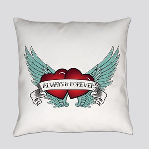 Always And Forever Rockabilly Everyday Pillow
