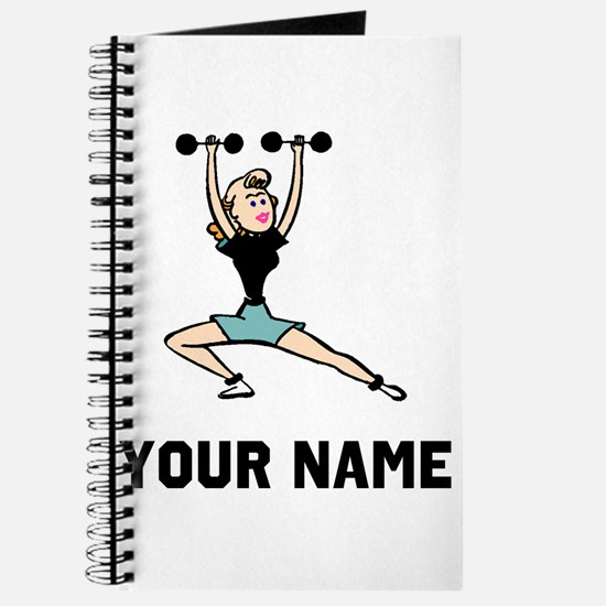 Woman Weightlifting Journal