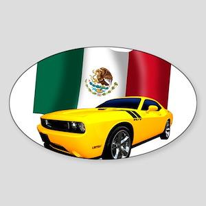 Challenger Mexico Sticker