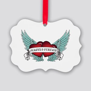 Always And Forever Rockabilly Picture Ornament