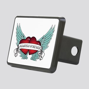 Always And Forever Rectangular Hitch Cover