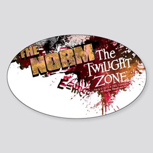 Ugliness is the Norm Sticker (Oval)