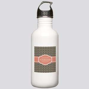 Brown Horseshoe Coral Stainless Water Bottle 1.0L