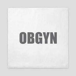 OBGYN - Gray Queen Duvet