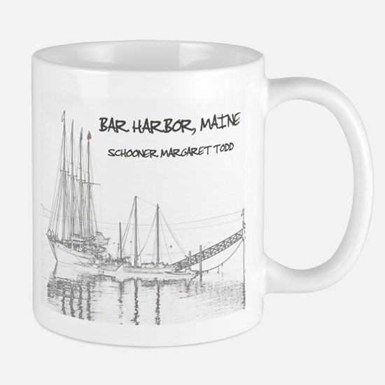 Bar Harbor Schooner Mugs