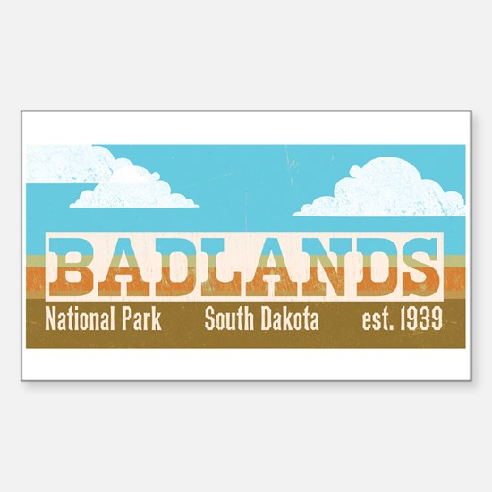 Badlands National Park Sky Decal
