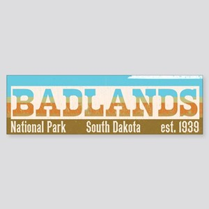 Badlands National Park Sky Bumper Sticker